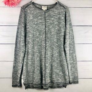 St. Johns Bay Womens Small Gray Sweater 789
